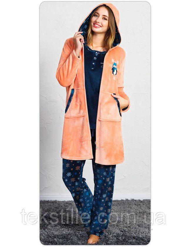 Пижама женская брюки 3-ка SNK-711 3456