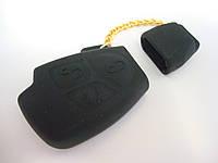 Чехол силиконовый для ключа зажигания Mercedes Benz V2. Чехольчик для ключа Мерседес