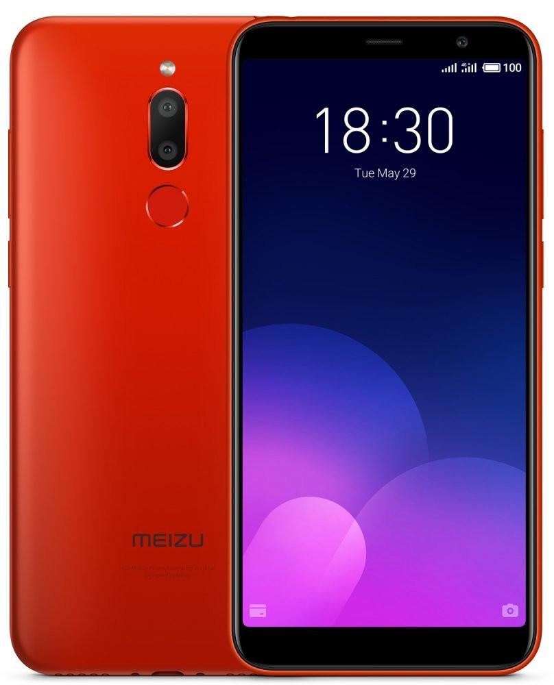 Сенсорный мобильный телефон Meizu M6T 3/32GB Red