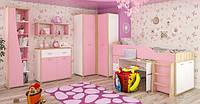 Детская спальня Лео розовая МС, фото 1