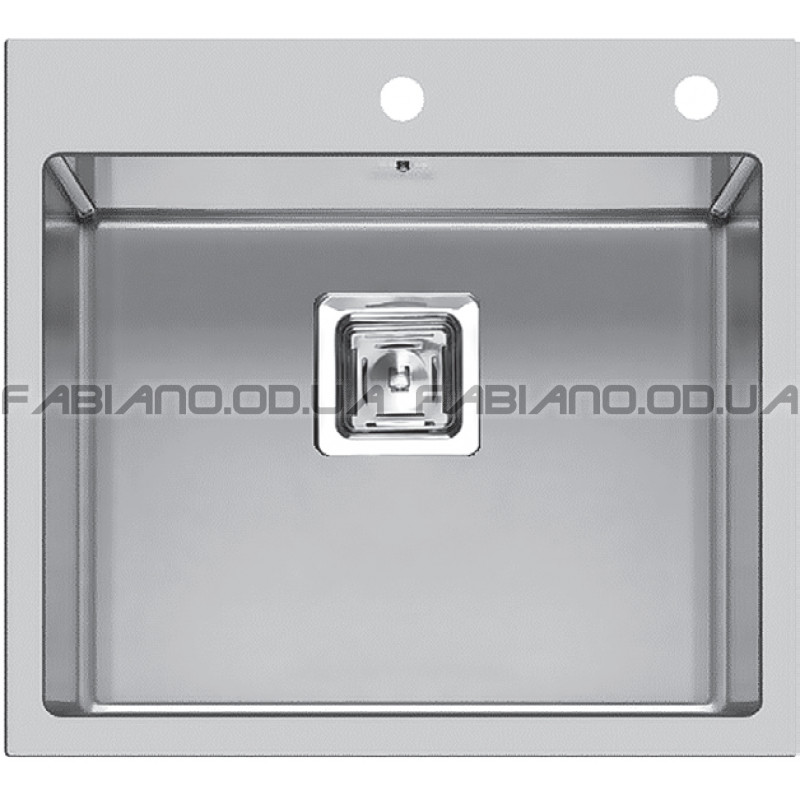 Мойка Fabiano Quadro 56x51 S/Steel