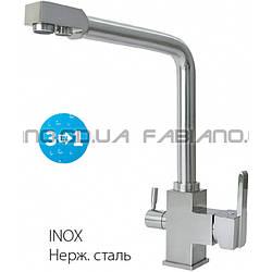 Смеситель Fabiano FKM 31 Inox