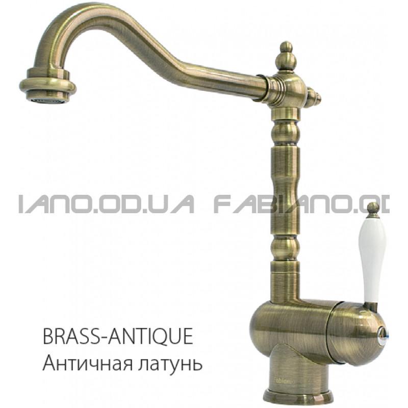 Ретро смеситель Fabiano FKM 37 Brass-Antique