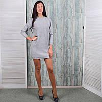 Женское теплое платье-туника. 8901-5. Размер 46-48. f2aaa8fe14875