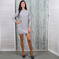 Женское теплое платье-туника. 8901-5. Размер 46-48. e4e5324d59a10