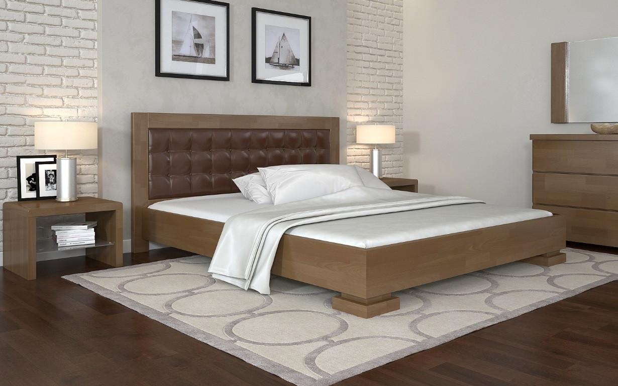Деревянная кровать Монако 120х190 см. Arbor Drev