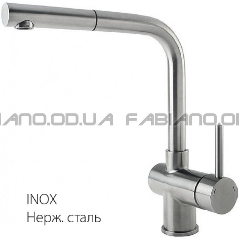 Смеситель Fabiano FKM 46P S/Steel Inox