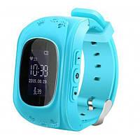 Smart Baby Watch Детские часы-телефон с GPS трекером Q50 Blue
