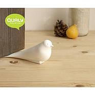 Стоппер для двери Dove Qualy (белый), фото 2