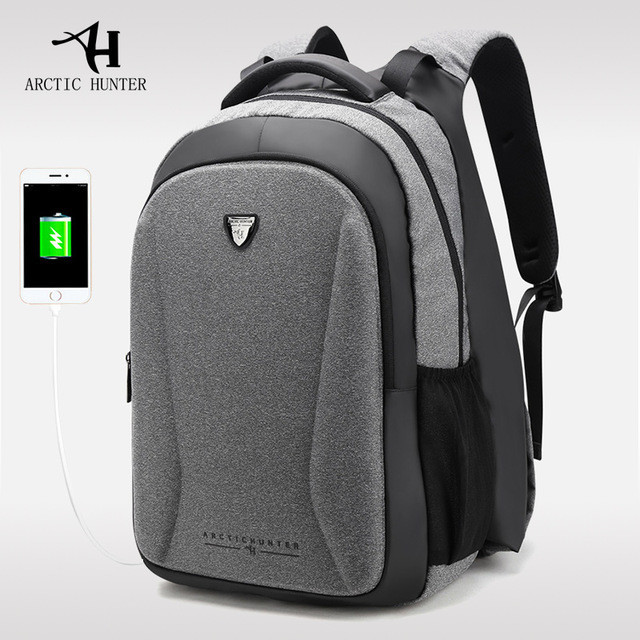 Уникальный городской рюкзак с подогревом для рук, портом USB и водозащитой
