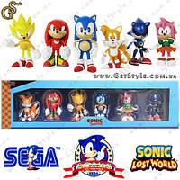 """Набор фигурок Соник - """"Sonic Box"""" - Оригинальная упаковка!"""