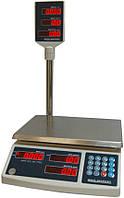 Весы торговые ICS 30NT со стойкой 30 кг