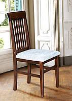 Кухонный стул - Алена, из массива дерева с мягкой сидушкой.