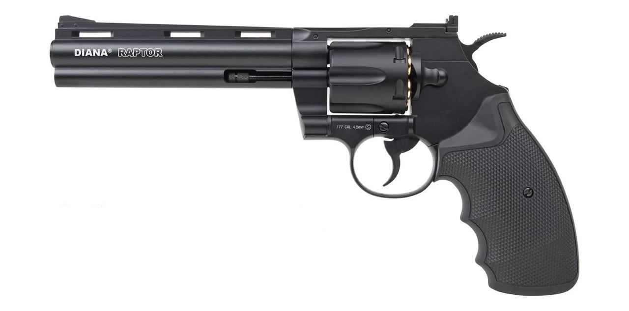 Револьвер пневматический Diana Raptor. Длина ствола - 6 дюйма