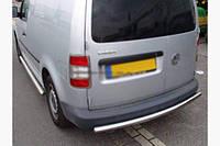 Задняя защита на Volkswagen Caddy 2015 +