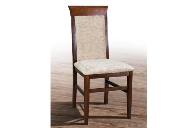 Обеденный стул из массива дерева, смягкой сидушкой, спинкой-Алла