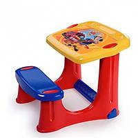 Smoby Парта со скамейкой «Пожарный Сэм»