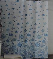 Шторка,занавеска в ванную комнату Miranda(рыбы)