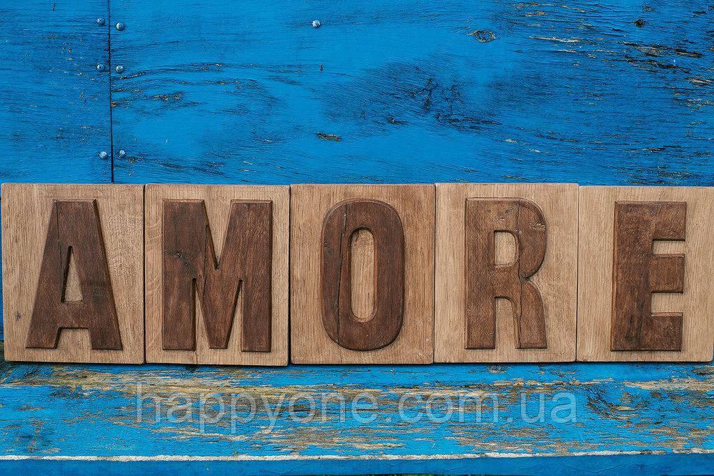 Вывеска Amore