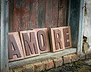 Вывеска Amore, фото 2