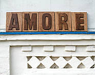 Вывеска Amore, фото 4