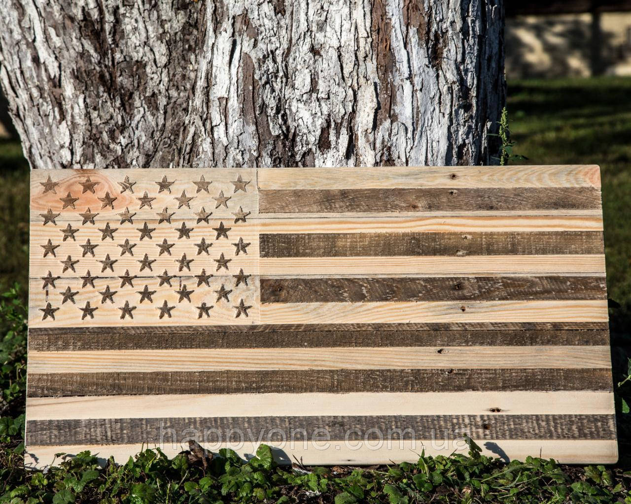 Настенный Американский флаг (не окрашенный)