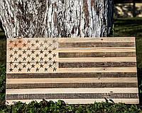 Настенный Американский флаг (не окрашенный), фото 1