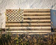 Настенный Американский флаг (не окрашенный), фото 2