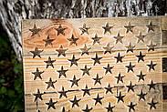 Настенный Американский флаг (не окрашенный), фото 3