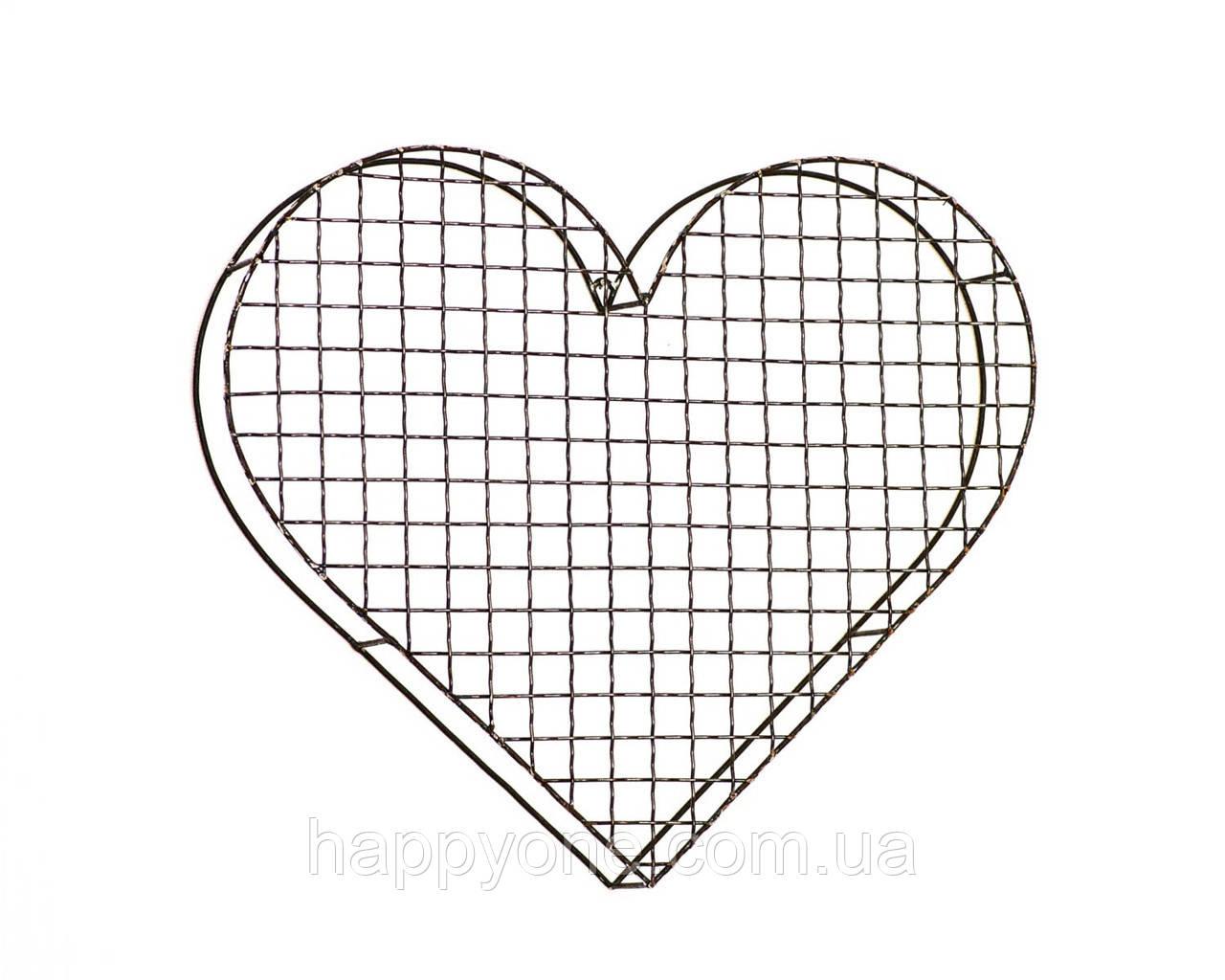 Настенное Сердце из проволоки