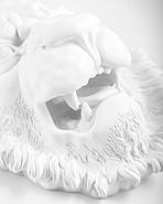 Настенный декор Голова Льва (белый), фото 3