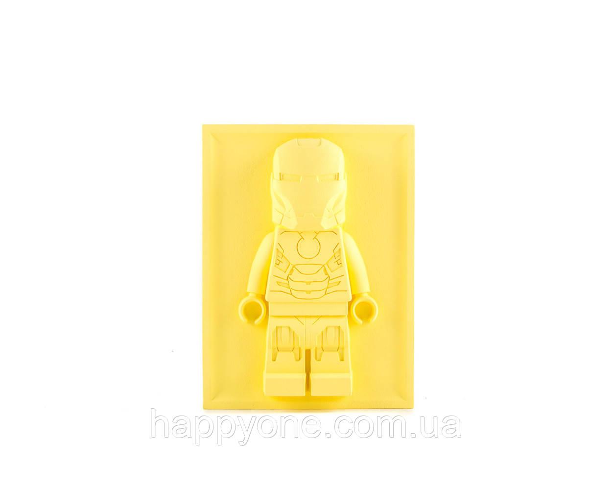 Барельеф Скульптура Лего Iron Man