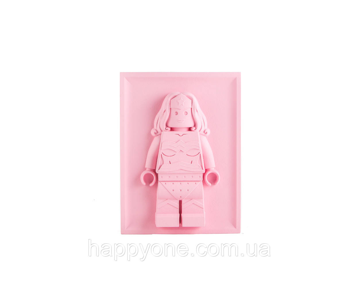 Барельеф Скульптура Лего Wonder Woman
