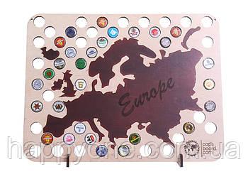Пивная карта Европы Capsboard Europe
