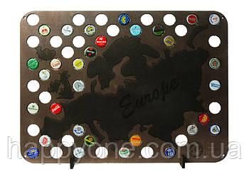 Пивная карта Европы Capsboard Europe Night