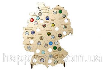 Пивная карта Германии Capsboard Germany
