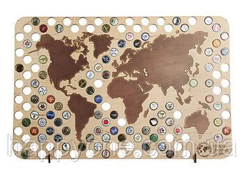 Пивная карта мира Capsboard World