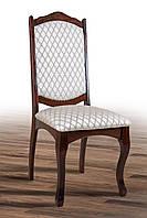 Классический обеденный стул из массива бука, с мягкой сидушкой,спинкой -Натали