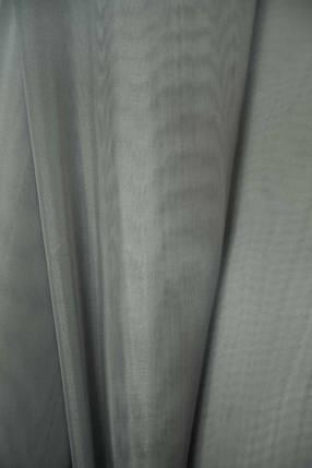 Шторный шифон Серый, вуаль, фото 2