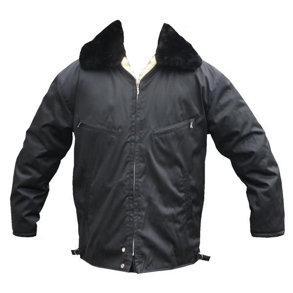 a2a7cb1e556 Бушлат куртка черного цвета - Интернет-магазин