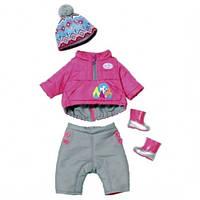 Zapf Creation Зимний комплект одежды для куклы «Baby Born»