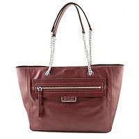 Женская бордовая кожаная сумка Marc by Marc Jacobs, фото 1