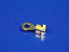Клемма кольцевая, под кабель, без изоляции D=5 мм.