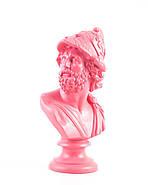 Бюст Перикл (розовый), фото 3