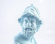 Бюст Перикл (голубой), фото 3