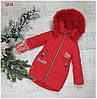 Зимняя куртка 18-10 на 100% холлофайбере, размер от 98 см до 122 см