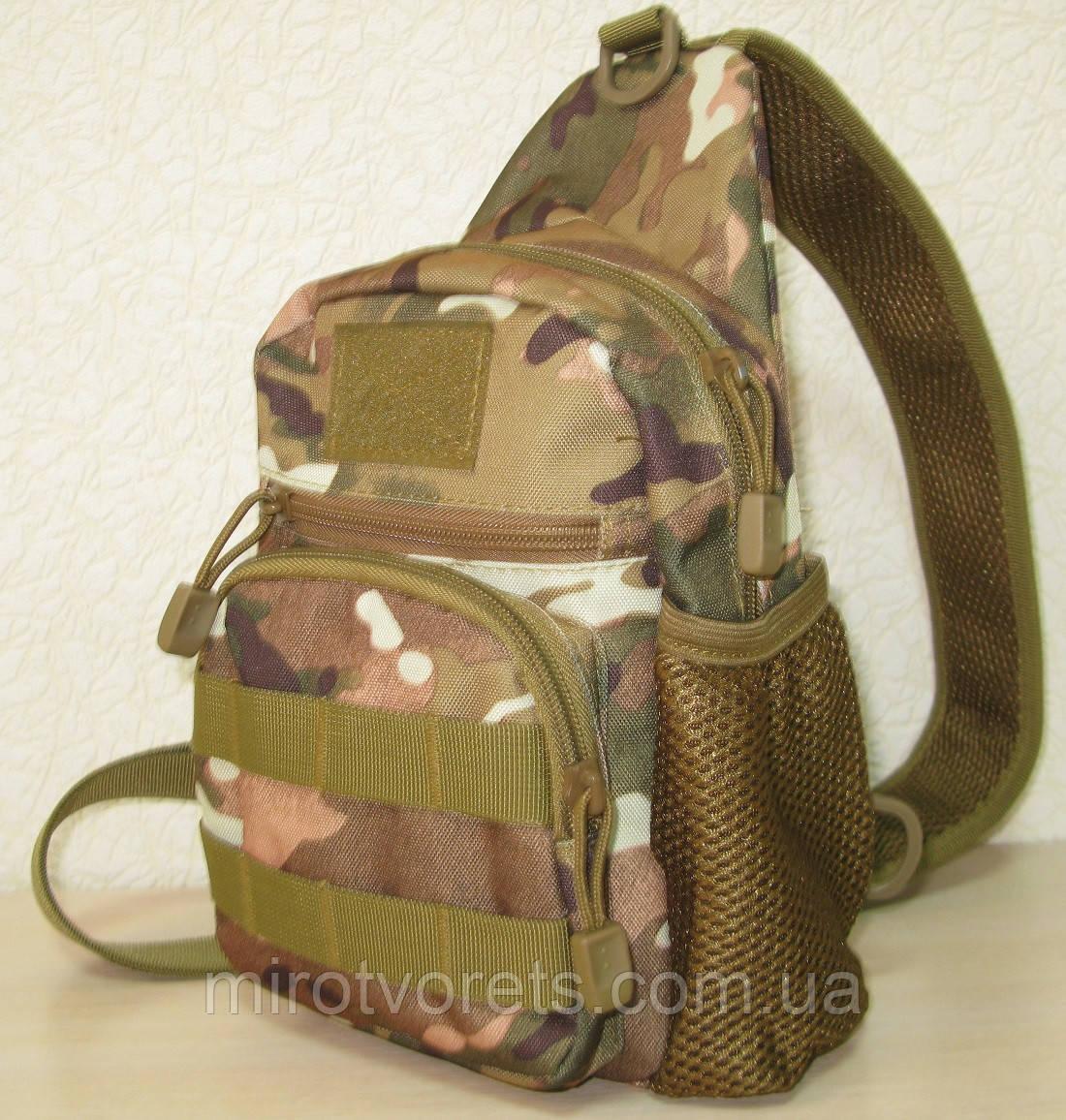 Тактическая сумка плечевая (однолямочный рюкзак)