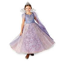 Карнавальний костюм ДеЛюкс: світяться плаття Клара + тіара, сережки, кольє Disney, фото 1