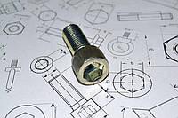 Винт М3 ГОСТ 11738-84 оцинкованный, фото 1