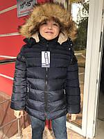Куртка зимняя для мальчика  10,16 лет